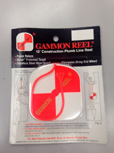 Gammon 12 feet Construction Plumb Line Reel
