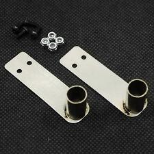 Pair of metal exhaust tips for 1:10 RC may fit Tamiya,HPI,Sakura, Axial2