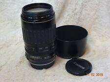 Canon EF 70-210mm F3.5-4.5 USM metal mount version.  EF mount optics clear
