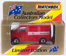 Matchbox MB 60 Ford Transit Australia Post China Casting 1981 MIB