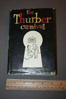 THE THURBER CARNIVAL JAMES THURBER 1957 1ST EDITION MODERN LIB. EDITION HC/DJ