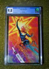 Captain Marvel l#23 CGC 9.8 NM/MINT Dauterman Variant 1ST OVE & BRIGID