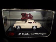 Malibu International Mercedes Benz 300SL Wing Door Cream 1:87 HO Train Scale NIB