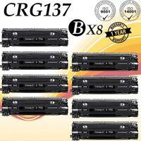8-Pk/Pack 137 CRG137 Toner for Canon 137 ImageClass MF227dw MF232w MF236n MF249