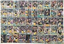 Green Bay Packers SUPER BOWL XXXI 50 Card Factory Set