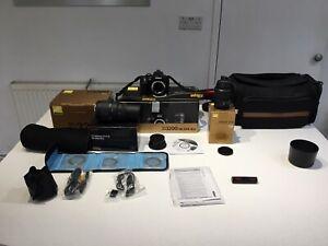 Nikon D3200 18 - 5511 Kit Plus Lenses and Accessories
