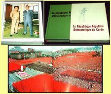 1988 DPRK, North Korea illustrated album, mini book, communist propaganda photo