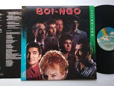Oingo Boingo Boi-Ngo Vinyl LP Record Album 1987 Danny Elfman New Wave + Insert