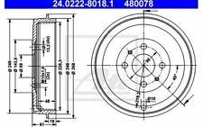2x ATE Bremstrommeln hinten für FIAT IDEA MULTIPLA 24.0222-8018.1 - Mister Auto