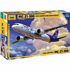 """Zvezda 7033 MC-21-300 """"Irkut"""" (UAC) /modern russian civil airliner/ 1/144"""