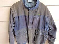 Lacoste Izod True Vintage Hipster Corduroy Hybrid Jacket Vest Mens Size XL 80s