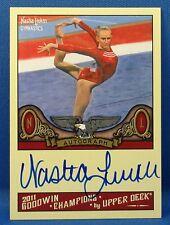 2011 Upper deck Goodwin Champions Nastia Liukin Autographed Card