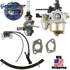 Pacific Carburetor w Shutoff Left Petcock Coil Pressure Washer 61228 61234 2800