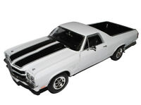 Chevrolet Chevy El Camino Weiss Pick-up 3. Generation 1968-1972 1/18 Welly Mod..