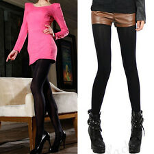 HOT Korean Girl Women Ladies Opaque Footed Velvet Pantyhose Stocking Sock Tights