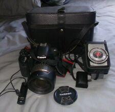 canon eos 60d camera with tamron xr di II sp 17-50 mm lens digital + luna-pro f