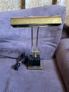 """House of Troy Polished Brass & Black Marble P10-101-B 10"""" Shade"""