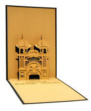 Melbourne Luna Park - Australia - Souvenir - 3D pop up card - 11x17 cm