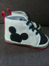 Disney Baby Shoes Mickey Mouse 9-12 Month NWOT