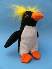 Plüschtier Pinguin 15cm Stofftier Goldschopfpinguin Pinguine neu