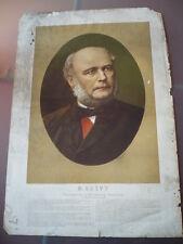 TRES GRANDE GRAVURE  M.GREVY PRESIDENT DE LA REPUBLIQUE FRANCAISE  19ème SIECLE