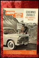 AMS Auto Motor Sport 25/59 Fiat 2100 Ford Taunus 17 M