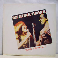 45T MAXI IKE & TINA TURNER Disque Vinyl LIVING FOR THE CITY - STRIPED HORSE 3014