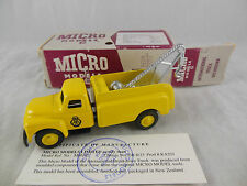 Micro Models MM702 International Breakdown Truck AA in Yellow One of 600
