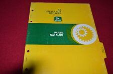 John Deere 50 Utility Box Scraper Dealer's Parts Book Manual PANC