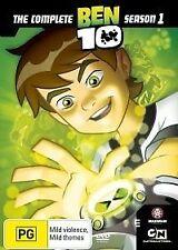 BEN 10: The Complete Season 1 (DVD, 2007, 2-Disc Set)