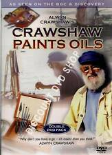 ALWYN CRAWSHAW'S PAINTS OILS. DOUBLE DVD PACK. NEW ITEM