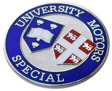 University Motors London MG dealer MGC dash plaque