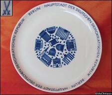Vintage Meissen German Gdr Ddr Decorative Wall Plate - Berlin