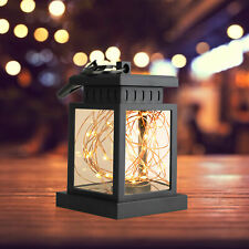 Waterproof Led Fairy String Light Outdoor Solar Power Lantern Hanging Decor Lamp