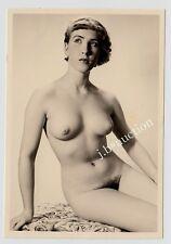 #517 RÖSSLER AKTFOTO / NUDE WOMAN STUDY * Vintage 1950s Studio Photo - no PC !