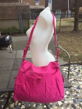 NWT TAJIO creations Pink Quilted Womens Large Carry Bag/Crossbody/shoulder Bag