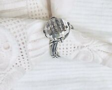 Peter Thomas Roth Sterling Silver Rock Crystal Ring Ring Size 8
