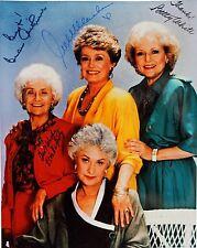 Golden Girls TV Series #2 Autograph Reprint Betty White Bea Arthur Estelle Getty