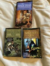 PETER GARRISON The Changeling Saga Book One Two Three Complete Trilogy Lot Of 3