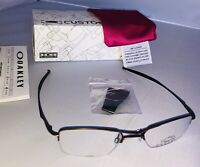 New In Box Oakley Hollow Point 4.0 Eye Reading Glasses Metal Half Frame Original