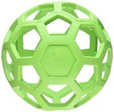 JW Pet Holee Roller Ball Dog Chew Treat Fetch Bouncy Toy Jumbo 8 Inch
