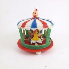 Vintage Cake Topper Carousel Kids Clown 60s Coast Novelty Hong Kong Plastic