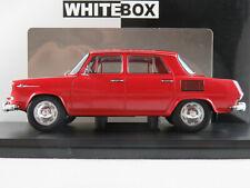 WhiteBox WB124066 Škoda 1000 MB Limousine (1968) in rot 1:24 NEU/OVP