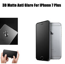 3D Matte Anti Glare Tempered Glass Screen Protector Guard For iPhone 7 Plus
