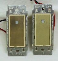 2 Carlon-Thyrocon AR175 BRITE-TOUCH Infrared Control Light Switch NOS