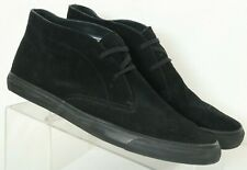 Banana Republic Black Suede Casual Fashion Chukka Sneakers Men's US 11 M