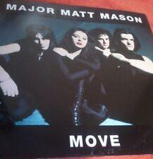 """Major Matt Mason ~ """"Move (fuera)"""" c/w """"mover [versión] &"""" buena para usted"""" (PS) 12"""""""