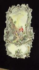 ARTGLASS HAND DECORATED & HAND COLORED REVERSE PAINTING ON GLASS PICTURE