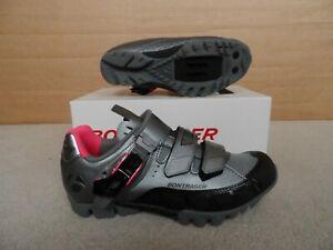 Womens Bontrager Evoke DLX MTB Cycling Shoes Size 3.5 / 4 UK 36 EU NEW