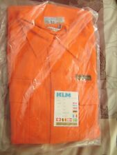 Combinaison de travail KLM Sanfor orange T 50 neuve+étiquette